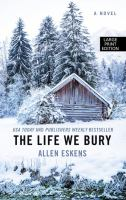 Cover image for The life we bury