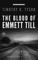 Cover image for The blood of Emmett Till