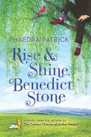 Cover image for Rise and shine, Benedict Stone