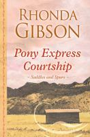 Cover image for Pony express courtship