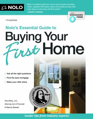 Cover image for Nolo's essential guide to buying your first home