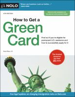 Cover image for How to get a green card