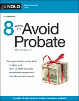 Cover image for 8 ways to avoid probate