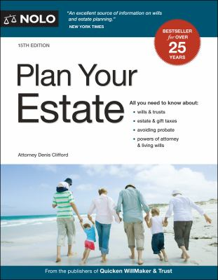 Cover image for Plan your estate