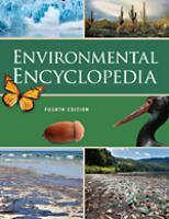 Cover image for Environmental encyclopedia