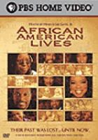 Cover image for African American lives