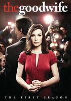 Cover image for The good wife. The first season