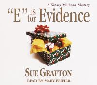 """Cover image for """"E"""" is for evidence"""