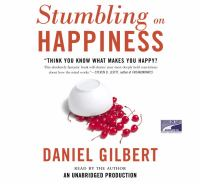 Cover image for Stumbling on happiness