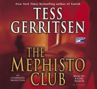 Cover image for The Mephisto Club
