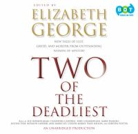 Cover image for Two of the deadliest : new tales of lust, greed, and murder from outstanding women of mystery