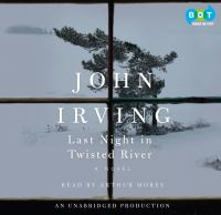 Cover image for Last night in Twisted River