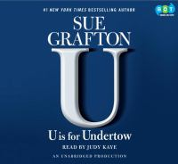 """Cover image for """"U"""" is for undertow"""