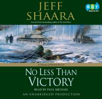 Cover image for No less than victory : a novel of World War II