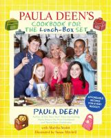 Cover image for Paula Deen's cookbook for the lunch-box set