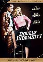 Cover image for Double indemnity