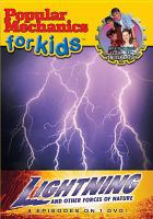 Cover image for Popular mechanics for kids. Lightning and other forces of nature