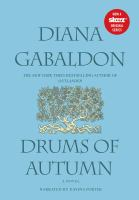 Cover image for Drums of autumn