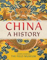 Cover image for China : a history