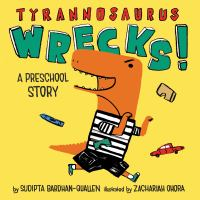 Cover image for Tyrannosaurus wrecks!
