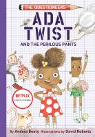 Cover image for Ada Twist and the perilous pants