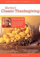 Cover image for Martha's classic Thanksgiving