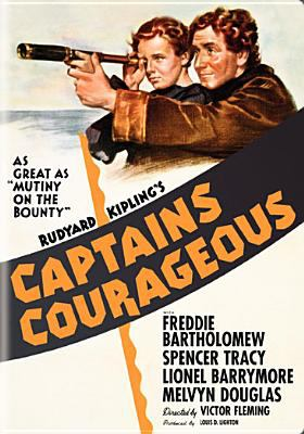Cover image for Captains courageous