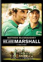 Cover image for We are Marshall