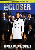 Cover image for The closer. The complete second season