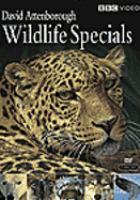 Cover image for David Attenborough wildlife specials