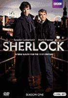 Cover image for Sherlock. Season one