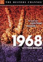 Cover image for 1968 with Tom Brokaw