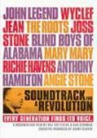 Cover image for Soundtrack for a revolution