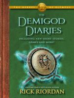Cover image for The demigod diaries