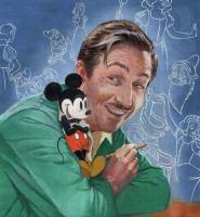 Cover image for Walt's imagination : the life of Walt Disney