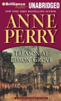 Cover image for Treason at Lisson Grove : a Charlotte and Thomas Pitt novel