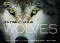 Cover image for The hidden life of wolves