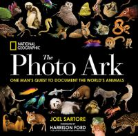 Cover image for The photo ark : one man's quest to document the world's animals