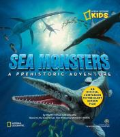 Cover image for Sea monsters a prehistoric adventure