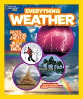 Cover image for National Geographic Kids. Everything weather