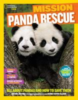 Cover image for Panda rescue : all about pandas and how to save them