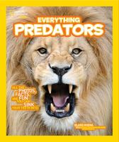 Cover image for National Geographic Kids. Everything predators