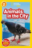 Cover image for Animals in the city