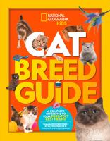 Cover image for Cat breed guide : a complete reference to your purr-fect best friend