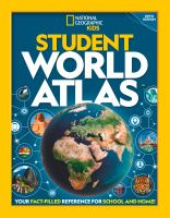 Cover image for National Geographic student world atlas.