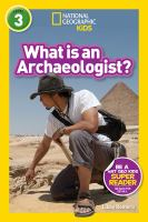 Cover image for What is an archaeologist?