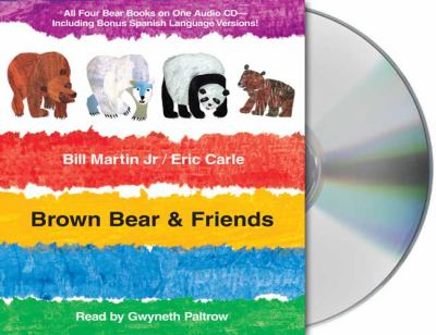 Cover image for Brown bear & friends