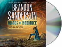 Cover image for Words of radiance