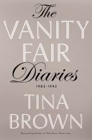 Cover image for The Vanity fair dairies : 1983-1992