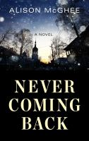 Cover image for Never coming back